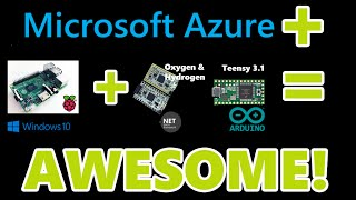 Fun on Microsoft Azure with Windows 10 IoT Core, NETMF, Raspberry Pi 2, Oxygen, Hydrogen and Teensy