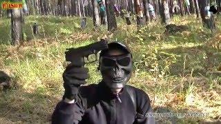 ANICS - Skif A-3000 Стрельба Стальными Омедненными Шариками 4,5 мм