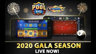 8 Ball Pool NEW Pool Pass: 2020 Gala Season!