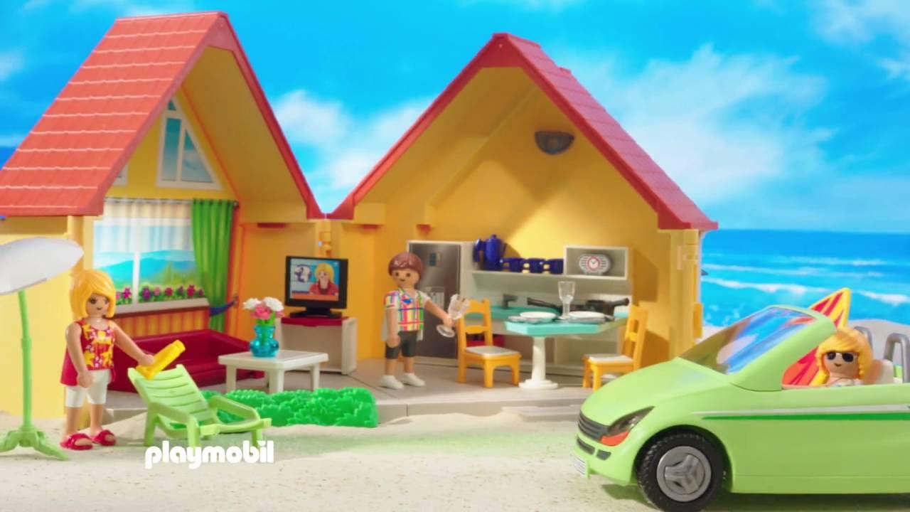 Playmobil casa de campo malet n avi n de vacaciones y for Casa playmobil precio