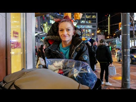 Toronto Homeless Woman Trying to Kick Her Heroin Addiction