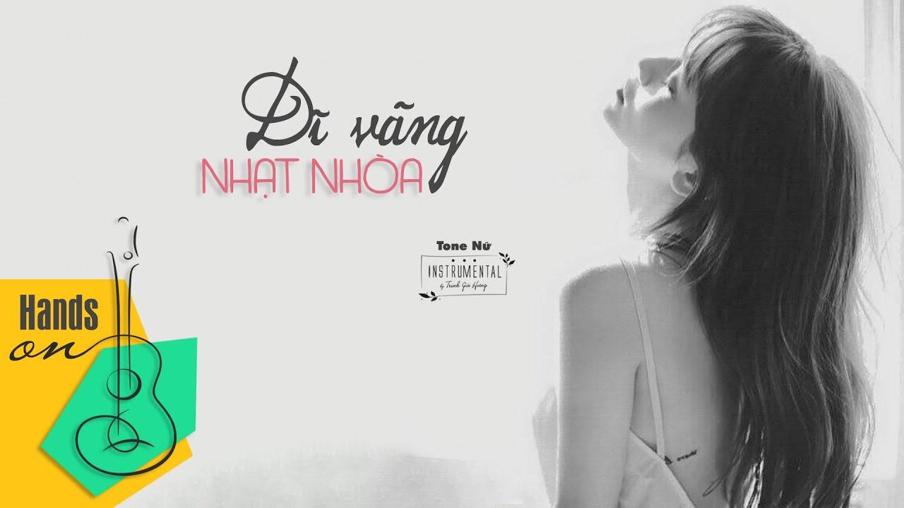 Dĩ vãng nhạt nhòa – Beat guitar | Karaoke acoustic by Trịnh Gia Hưng with lyrics