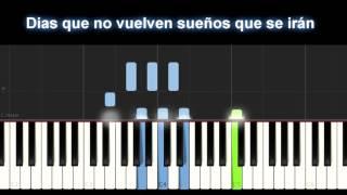 Vazquez Sounds - En mi, no en ti piano Karaoke  + letra