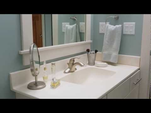 How to Clean a Bathroom Sink and Countertop