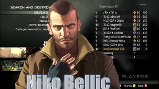 Niko Bellic Plays Modern Warfare 3 (MW3)