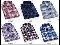 Best long sleeve t shirts men's || Men Flannel Plaid Shirt 100% Cotton