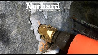 Norhard testing of a new version of the full profile tunnel drilling machine