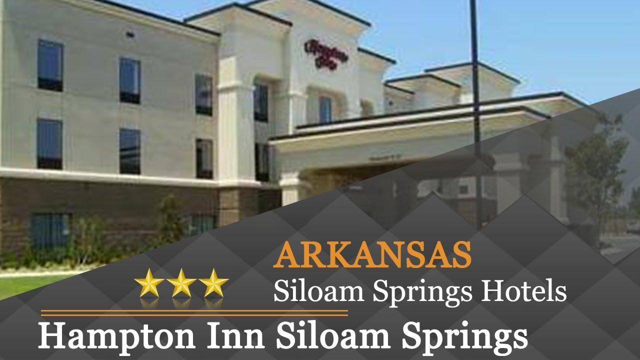 Hampton Inn Siloam Springs Hotels Arkansas