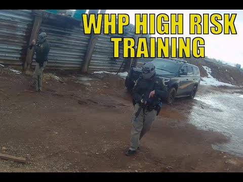 Wyoming Highway Patrol High Risk Training