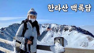 [Hiking] 제주도 한라산 백록담 관음사코스 등산