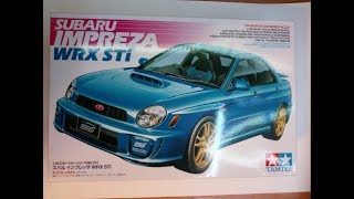 Розпакування/Огляд/ Subaru Impreza WRX STI Tamiya Scale 1/24 /unboxing/review