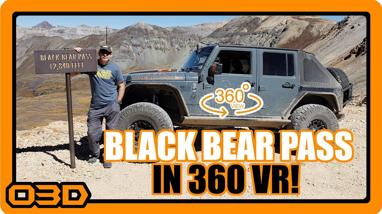 Black Bear Pass Walkthrough Jeep Badge Of Honor Trail