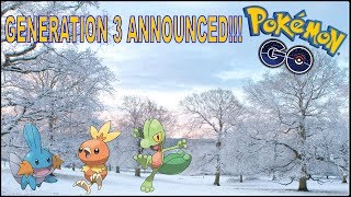GENERATION 3 AND WEATHER INCOMING!!!