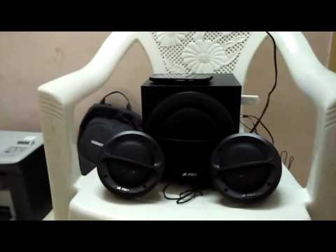 F&D A111F 2.1 Multimedia Speakers - Black Audio Test