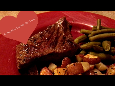 Quick And Easy Romantic Dinner For Two: First Cooking Tutorial