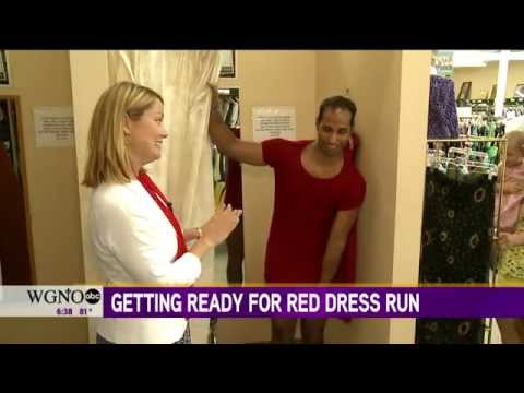 Rad in Red:  Shopping for New Orleans Red Dress Run