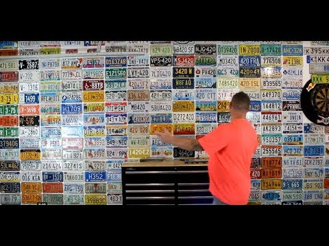 Look At This License Plate Collection!