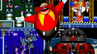 Sonic the Hedgehog 1, 2, CD, 3&K All Bosses