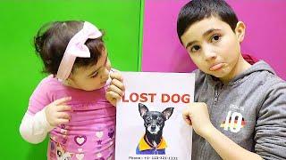 Celina and Hasouna lost our Dog- سيلينا وحسونة بحث عن الكلب