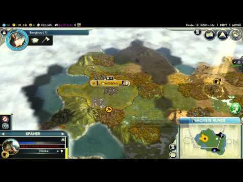 Let's Play Civilization 5 HD Part 3 - Hanoi ...Gesundheit |