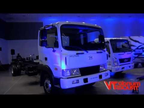 Hyundai present sus nuevos Camiones HD160 MAX y EX10