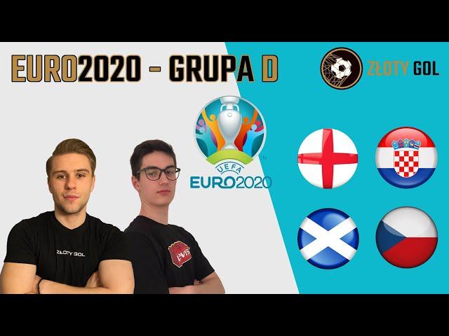 Potężna Anglia, stara Chorwacja i ekstraklasowe akcenty! - GRUPA D na EURO 2020
