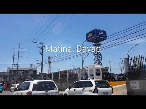 StreetView of Matina , Davao