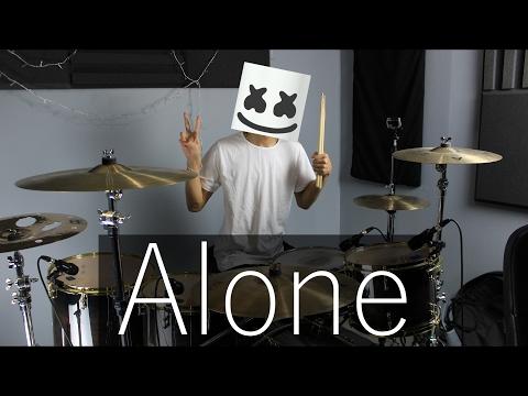 Alone - Marshmello (Drum Remix)   EarthEPD