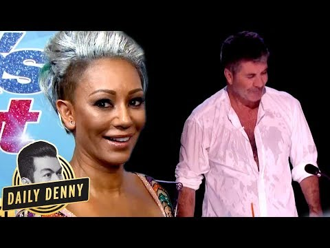 America's Got Talent's Simon Cowell VS Mel B: What You Didn't See On The Live Show | Daily Denny