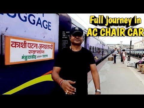 Varanasi junction to patna junction || Full train journey in 15125 JANSATHABDI EXPRESS