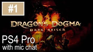 Dragons Dogma: Dark Arisen PS4 Pro Gameplay (Let