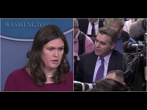 MUST WATCH: Sarah Huckabee Sanders has HEATED EXCHANGE with Fake News CNN's Jim Acosta