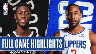 NETS at CLIPPERS | FULL GAME HIGHLIGHTS | August 9, 2020