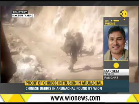 WION Dispatch: Proof of Chinese intrusion in Arunachal