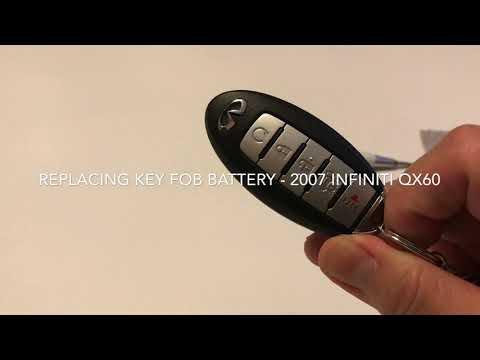 DIY: Battery replacement Infiniti QX60 key fob