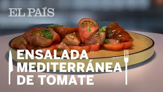 WXYZ BAR: ENSALADA mediterránea de TOMATES