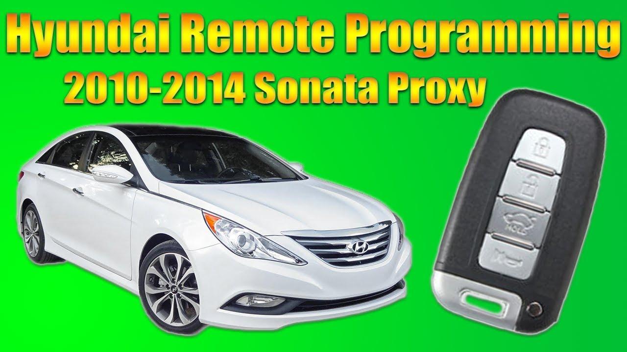 Car Key Programming >> Hyundai Sonata Remote Programming - YouTube