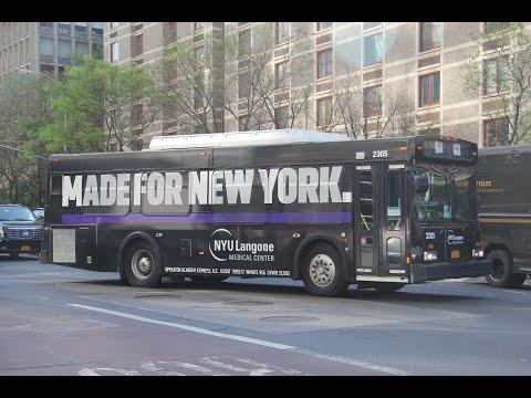 D30LF NYU Langone-HJD Shuttle at 1st Avenue and 33rd Street
