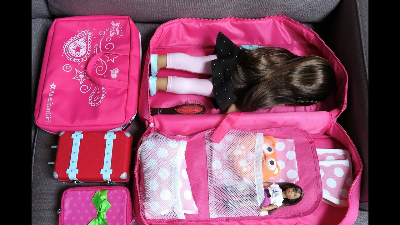 How To Travel With Your American Girl Doll ~ Three Night Hotel Vacation Stay!