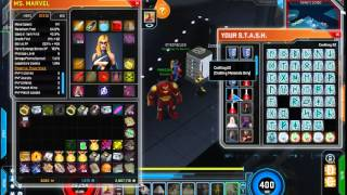 [Marvel Heroes] Ms Marvel - Cosmic Prestige lvl 60 + Build/Stuff