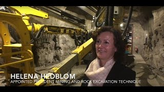 Interview with Helena Hedblom, Mining and Rock Excavation Technique