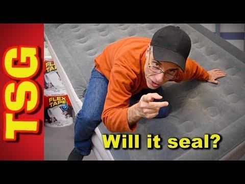 Will Flex Tape Seal An Air Matress?