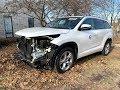Авто из США. 2015 Toyota Highlander - 8900$. Kyrgyzstan 🇰🇬.