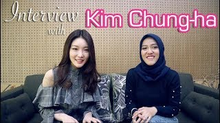 Interview & Mini Dance Tutorial With The Uber Kind: Kim Chung-ha  English With I