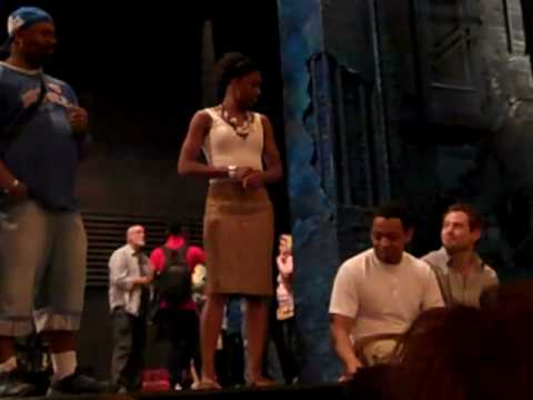 Talkback with cast of MEMPHIS THE MUSICAL