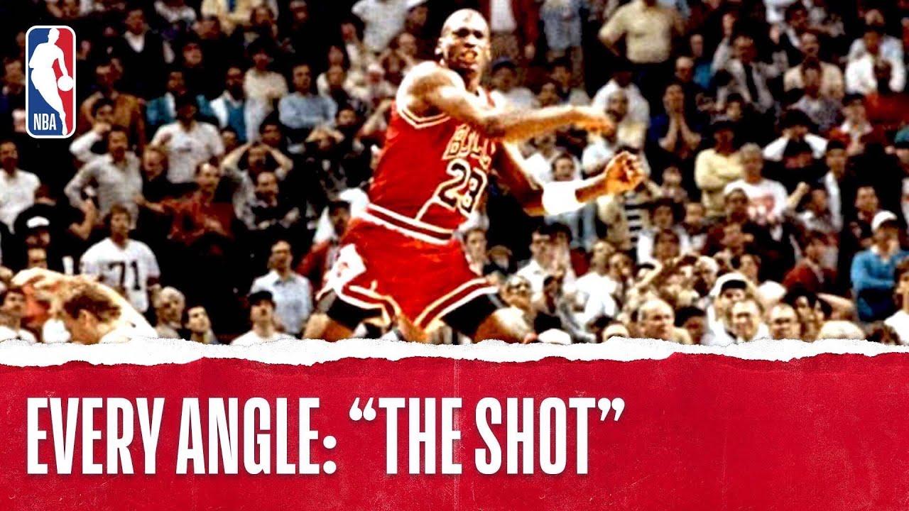 7923df2de73e Michael Jordan s Historic Series-Winning Shot on Ehlo -  TBT - YouTube