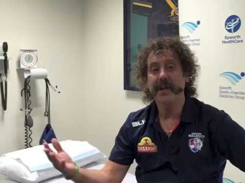 Western Bulldogs Doctors, Epworth's Dr Gary Zimmerman talks about the big game