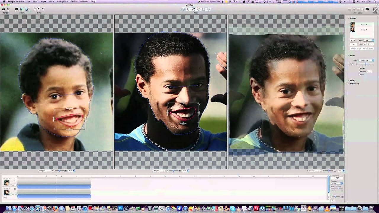 Morph Age: Morphing/Warping App for Still Images for Mac