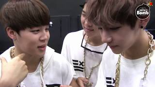 [BANGTAN BOMB] Rapper Jimin & V and Rap monster! - BTS (방탄소년단)