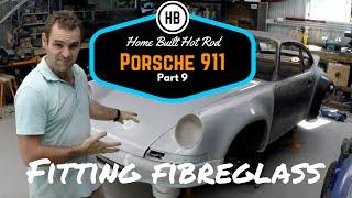 Fitting fibreglass parts - Porsche 911 Classic Car Build Part 9